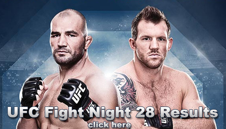 UFC Fight Night 28 Results