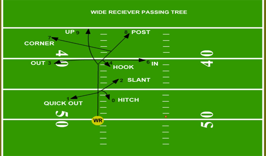 wide receiver route tree pdf