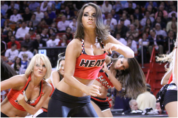 Miami Heat Dancers Today 39 s Miami Heat Dancer is