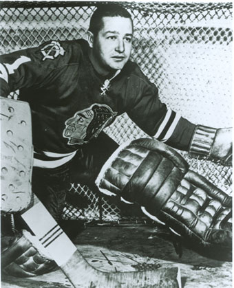 Glenn Hall Goalie