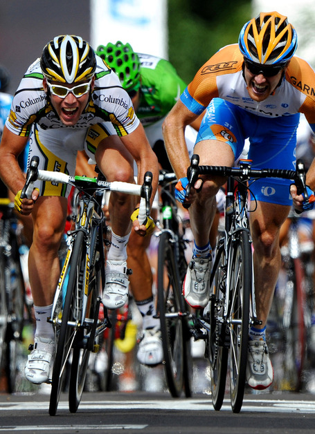 Mark Cavendish, HTC-Highroad, Tyler Farrar, Garmin-Cervélo, Tour de France, sprints, Green Jersey
