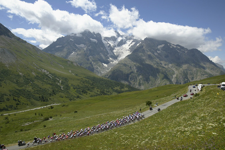 Tour de France Alps Podium Cafe