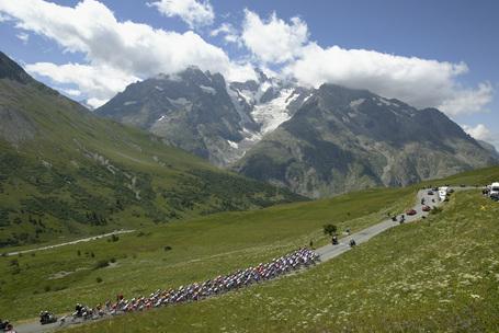Tour de France Alps Podium Cafe