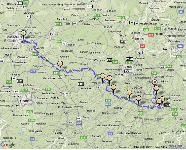 2011 tour de france map. 2011 2010 Le Tour de France