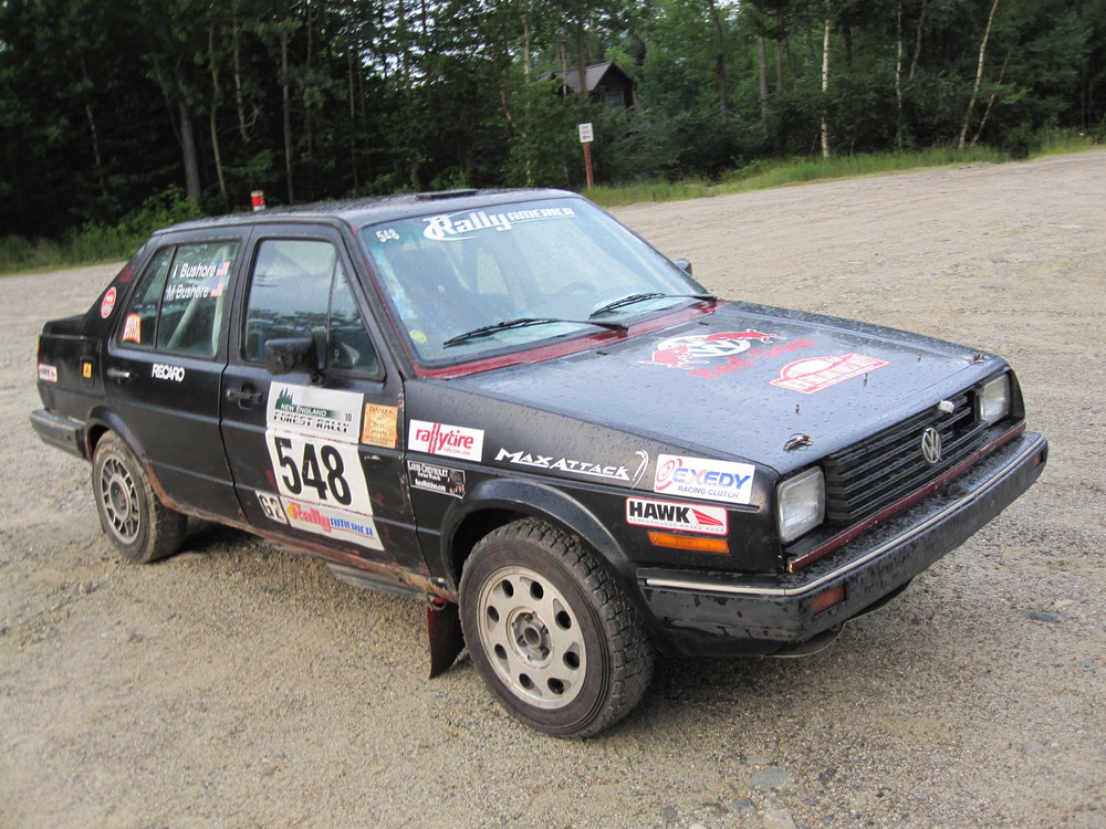 Washington state amateur rally car