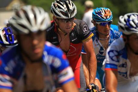 Pierrick Fédrigo Lance Armstrong Tour de France