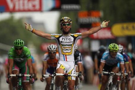 Mark Cavendish Tour de France Paris stage win