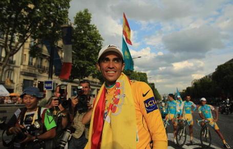 Alberto Contador Tour de France