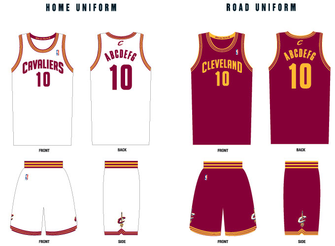 Cavaliers Hold 'Tweet-Up' To Introduce New Uniforms - Fear ...