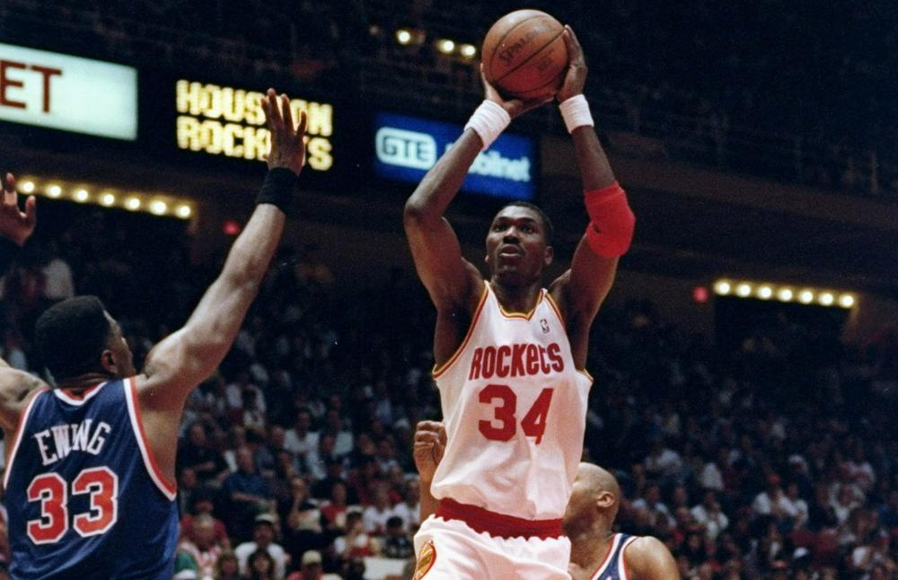 Hakeem Olajuwon - The 25 Greatest Centers in NBA History ...