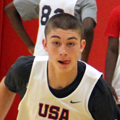 Payton Pritchard (Photo credit: Bart Young/USA Basketball)