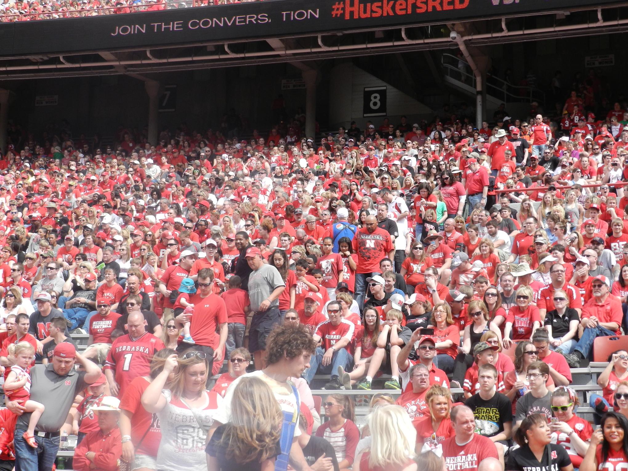 2014 Nebraska Football Fans