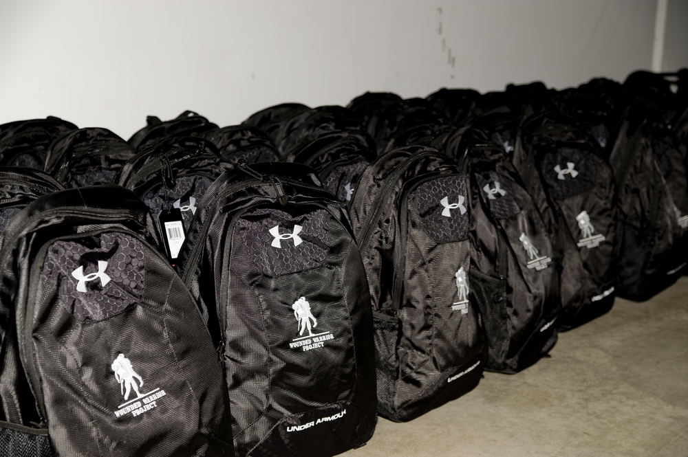 Members of the Baltimore Ravens will visit the Under Armour Freedom Bunker to help assemble Wounded Warrior Project Backpacks for injured service members ...