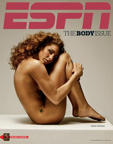 This is all part of the magazine's annual body issue, which is kind of like ...