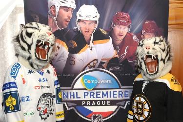 Liberec prepares for the Boston Bruins...I guess