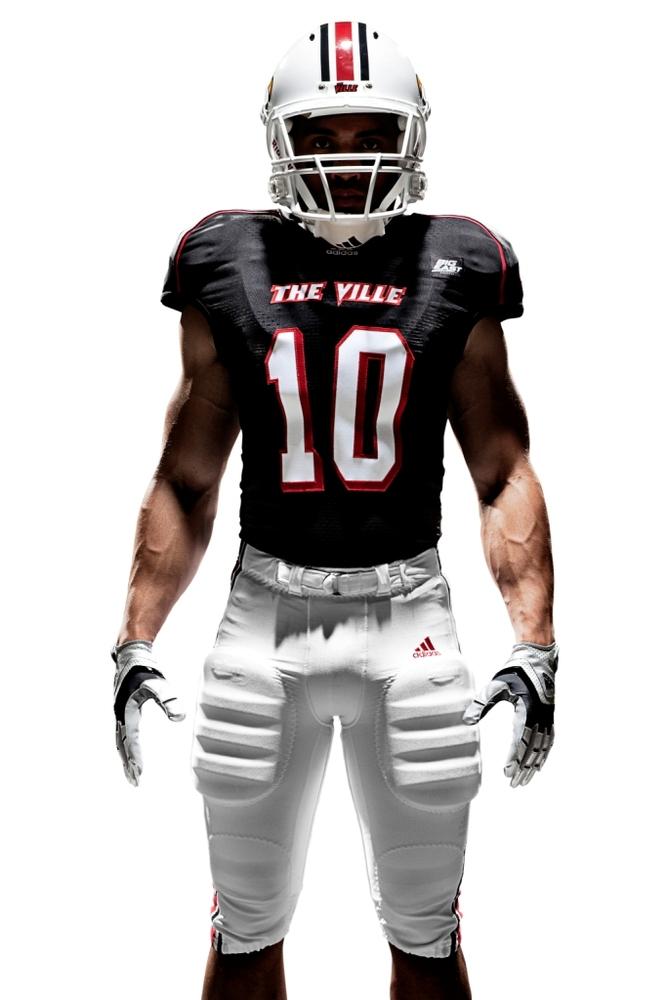 Adidas unveils new Louisville football uniforms - Card ...