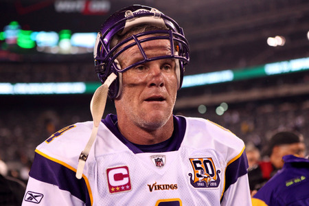 brett favre vikings celebrating. Last night#39;s Jets-Vikings game