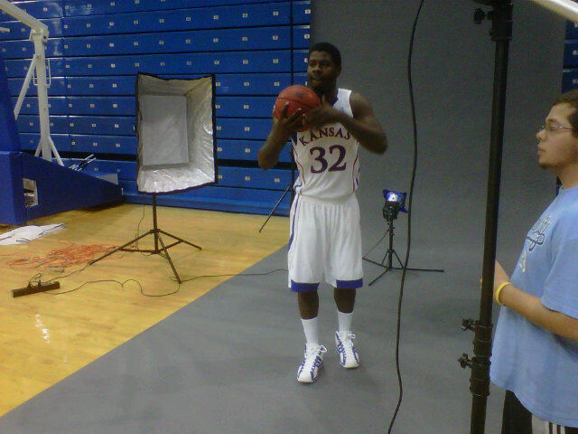 The Kansas Jayhawks basketball