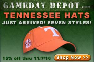 Gameday Depot hats 15% of through 11/7/10