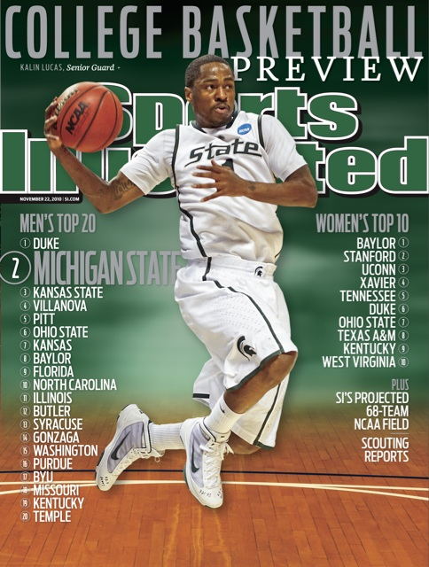 Kalin Lucas On Cover Of Sports Illustrated SB Nation Detroit
