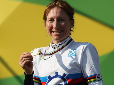Amber Neben 2008 World Championship