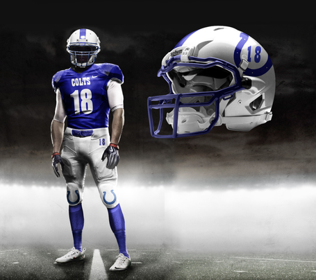 Rumored Nike Alternative Uniforms For Indianapolis Colts
