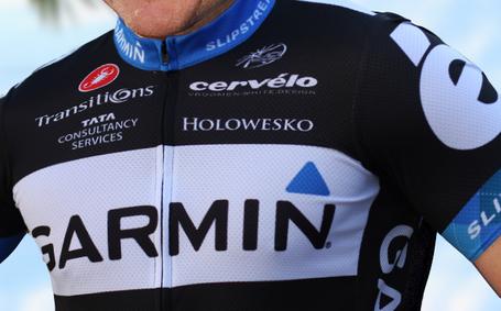 Garmin-Cervélo 2011 team kit