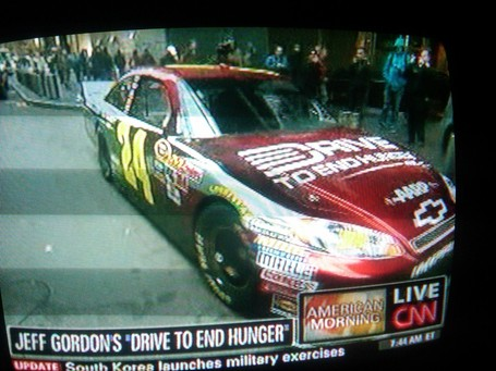 jeff gordon 2009 paint scheme. New Paint Scheme Revealed For