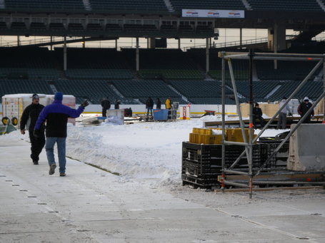 Winter Classic Thursday update #3