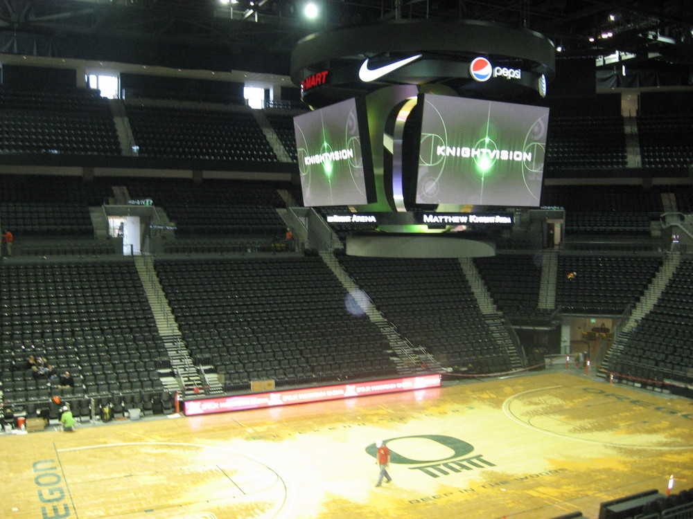 Behind The Scenes Matthew Knight Arena Photo Tour