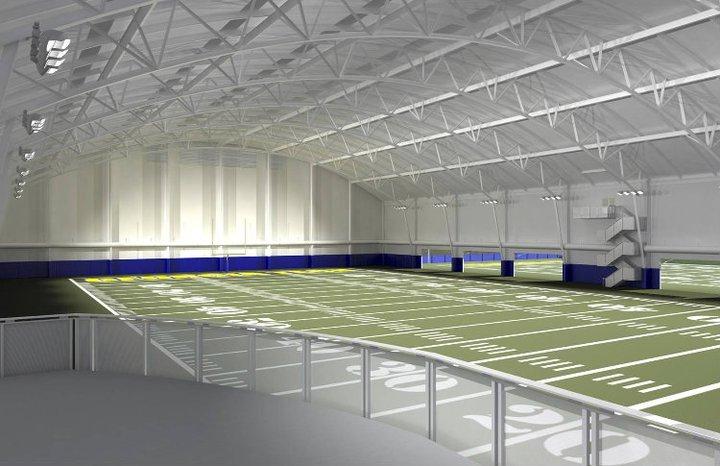 Photos Georgia Tech S Indoor Football Practice Facility