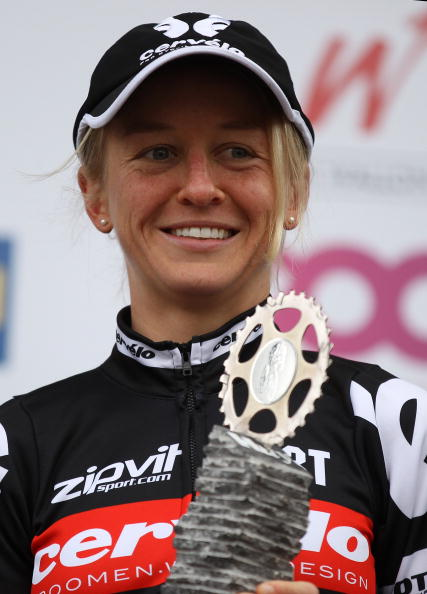 Emma Pooley, Flèche Wallonne 2010. Photo: Bryn Lennon/Getty.