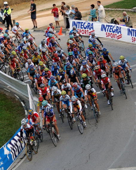 Women's road race, Geelong, 2010. Photo: Bryn Lennon/Getty.
