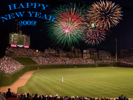 Peace and happiness to all for 2009. And Cub wins.