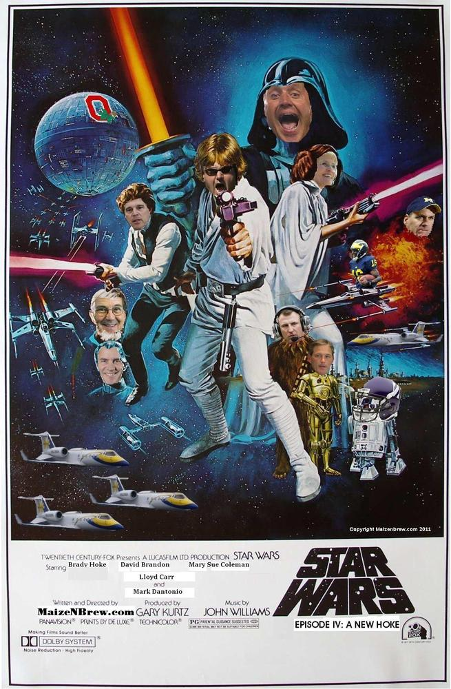 One good (?) Star Wars parody poster deserves another