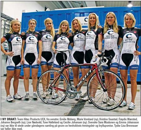 Hitec Products Women's Cycling Team
