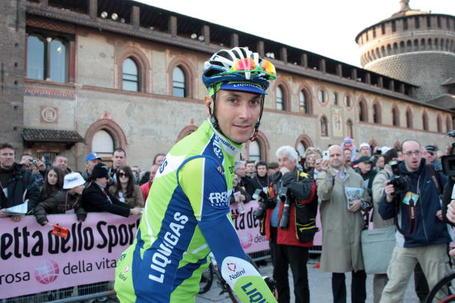Ivan Basso, Milano-Sanremo 2009