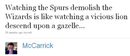 Spurs Wizards
