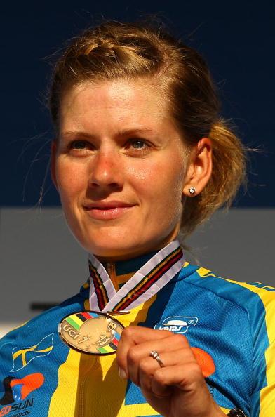 Emma Johansson, 2010 World Championship road race, Geelong. Photo: Scott Barbour/Getty.
