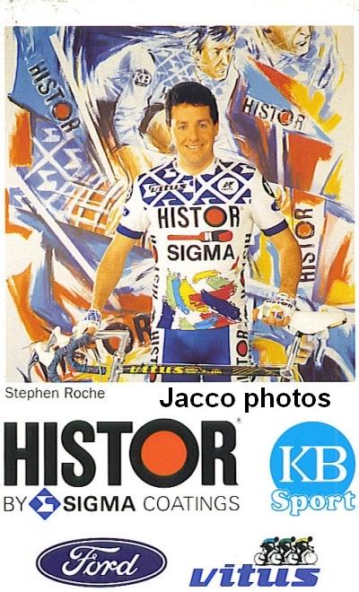Stephen Roche 1990 Histor - Photo: Jack Claassen