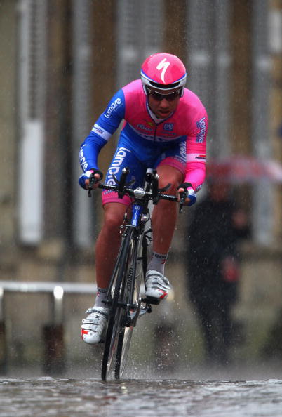 Mauro Santambrogio riding the 2008 Critèrium International. Photo: Tom Shaw/Getty.