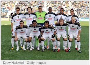 Philadelphia Union wear new white kit versus Vancouver