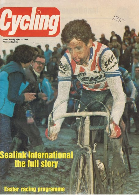The Comic on the 1984 post-Roubaix results