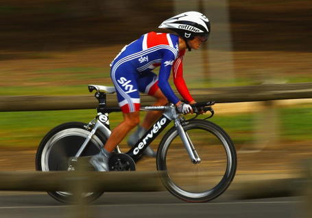 Emma Pooley, Garmin-Cervélo, 2010 World Championship Time trial, Geelong.