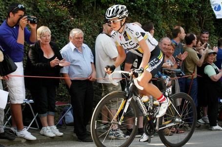 Evelyn Stevens, HTC-Highroad, Mur de Huy, Flèche Wallonne Femmes