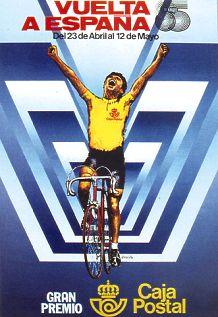 Vuelta 1985 poster - crdit: lavuelta.com