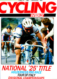 Cycling Weekly Giro cover - yes, the National 25 does merit a bigger headline than the Giro