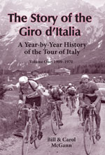 The Story of the Giro d'Italia, Volume 1, by Bill McGann