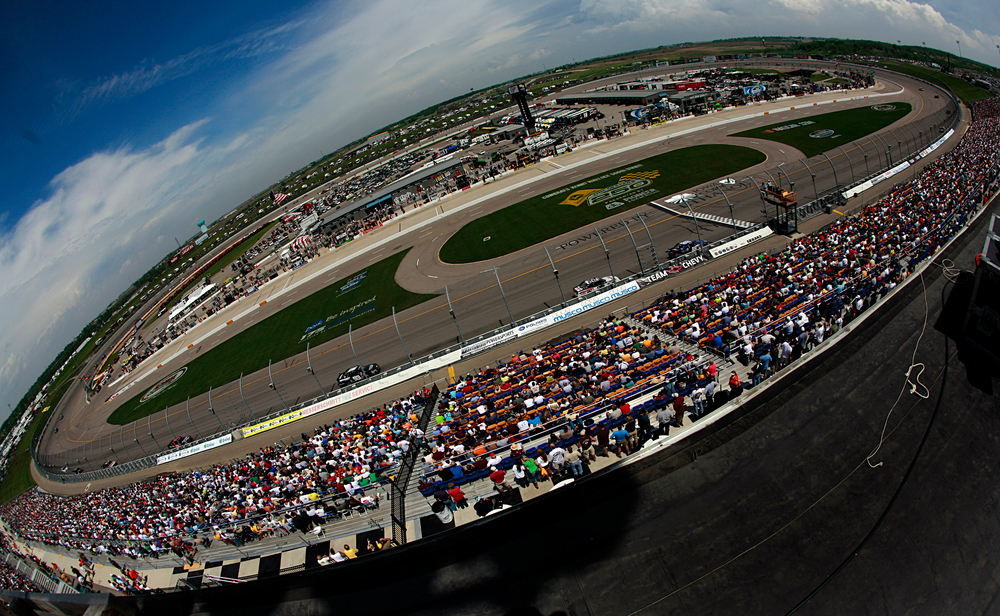 ... on Sunday at Iowa Speedway on Newton, Iowa (Photo: Meg Bestell-Eide