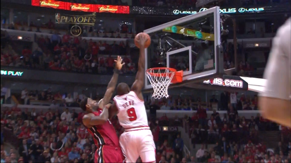 lebron james heat dunking. dunking on LeBron James,